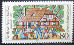 Poštovní známka Nìmecko 1983 Rauhe Haus sirotèinec Mi# 1186
