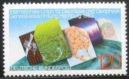 Poštovní známka Nìmecko 1983 Geodetické mapy Mi# 1187