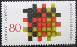 Poštovní známka Nìmecko 1983 Teritoriální úøady Mi# 1194