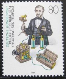 Poštovní známka Nìmecko 1984 Philipp Reiss, fyzik Mi# 1198