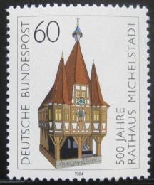 Poštovní známka Nìmecko 1984 Radnice, Michelstadt Mi# 1200