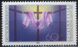 Poštovní známka Nìmecko 1984 Pašijová hra Mi# 1201