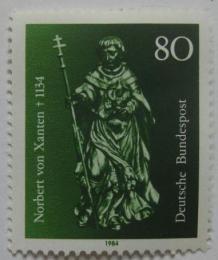 Poštovní známka Nìmecko 1984 Sv.Norbert von Xanten Mi# 1212