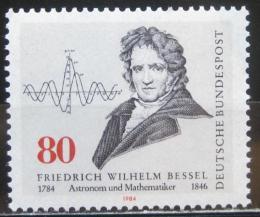 Poštovní známka Nìmecko 1984 Friedrich Bessel, astronom Mi# 1219