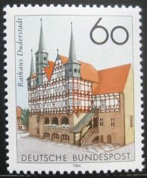 Poštovní známka Nìmecko 1984 Radnice, Duderstadt Mi# 1222