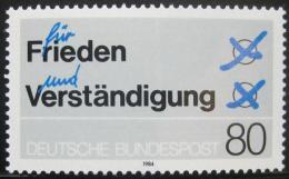 Poštovní známka Nìmecko 1984 Mír a porozumìní Mi# 1231
