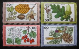 Poštovní známky Nìmecko 1979 Lesní rostliny Mi# 1024-27