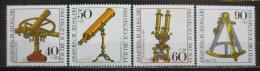 Poštovní známky Nìmecko 1981 Optické nástroje Mi# 1090-93