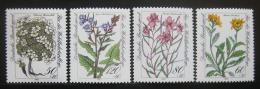 Poštovní známky Nìmecko 1983 Alpské kvìtiny Mi# 1188-91 Kat 5€