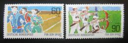 Poštovní známky Nìmecko 1982 Sport Mi# 1127-28