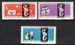 Poštovní známky Maïarsko 1961 Poštovní kongres Mi# 1762-64