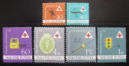 Poštovní známky Maïarsko 1961 Zdravotnictví Mi# 1747-52