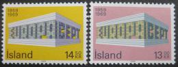 Poštovní známky Island 1969 Evropa CEPT Mi# 428-29