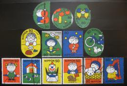 Poštovní známky Japonsko 2000 Den psaní dopisù SC# 2738-42 Kat $18