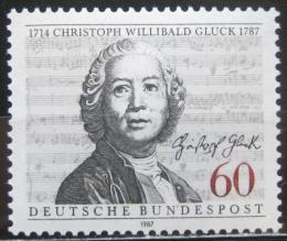 Poštovní známka Nìmecko 1987 Christoph W. Gluck, skladatel Mi# 1343