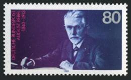 Poštovní známka Nìmecko 1988 August Bebel, politik Mi# 1382