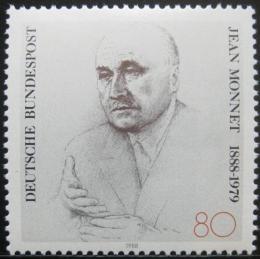 Poštovní známka Nìmecko 1988 Jean Monnet, ekonom a politik Mi# 1372