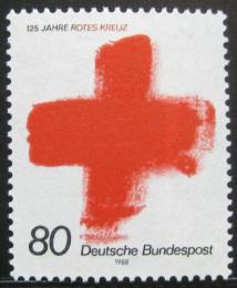 Poštovní známka Nìmecko 1988 Mezinárodní èervený køiž Mi# 1387