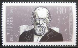 Poštovní známka Nìmecko 1988 Theodor Storm, básník Mi# 1371