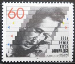Poštovní známka Nìmecko 1985 Egon Erwin Kisch, novináø Mi# 1247