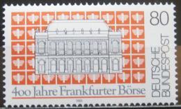 Poštovní známka Nìmecko 1985 Frankfurtská burza Mi# 1257