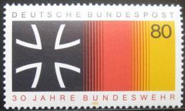 Poštovní známka Nìmecko 1985 Národní ozbrojené síly Mi# 1266