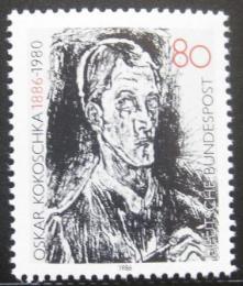 Poštovní známka Nìmecko 1986 Bach Kontata, Oskar Kokoschka Mi# 1272