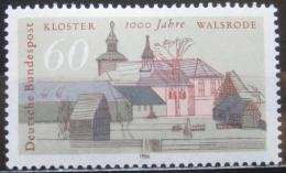 Poštovní známka Nìmecko 1986 Klášter, Walsrode Mi# 1280