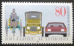Poštovní známka Nìmecko 1986 Století automobilù Mi# 1268