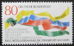 Poštovní známka Nìmecko 1986 Unie katolických studentù Mi# 1283