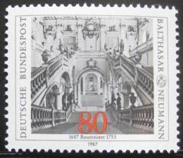 Poštovní známka Nìmecko 1987 Arcibiskupova rezidence Mi# 1307