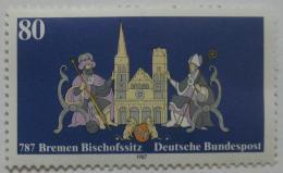 Poštovní známka Nìmecko 1987 Brémské biskupství Mi# 1329