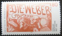 Poštovní známka Nìmecko 1987 Gerhart Hauptmann Mi# 1344