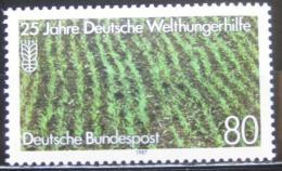 Poštovní známka Nìmecko 1987 Rýžové pole Mi# 1345