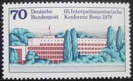 Poštovní známka Nìmecko 1978 Parlament v Bonnu Mi# 976