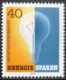 Poštovní známka Nìmecko 1979 Ochrana energie Mi# 1031