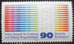 Poštovní známka Nìmecko 1980 Oscilogram Mi# 1053