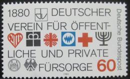 Poštovní známka Nìmecko 1980 Sociální blahobyt Mi# 1044