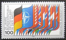 Poštovní známka Nìmecko 1980 Vlajky státù NATO Mi# 1034