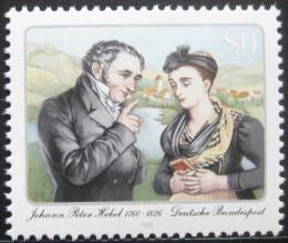 Poštovní známka Nìmecko 1985 Johann Peter Hebel, básník Mi# 1246