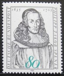 Poštovní známka Nìmecko 1985 Philipp Jakob Spener, teolog Mi# 1235