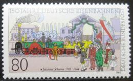 Poštovní známka Nìmecko 1985 Železnice Mi# 1264