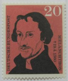 Poštovní známka Nìmecko 1960 Philipp Melanchthon, Lucas Cranach Mi# 328