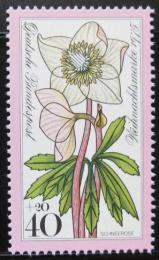 Poštovní známka Nìmecko 1975 Vánoce, snìžná rùže Mi# 874