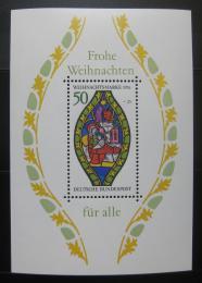 Poštovní známka Nìmecko 1976 Vánoce Mi# Block 13