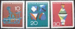 Poštovní známky Nìmecko 1968 Vìda a technika Mi# 546-48