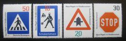Poštovní známky Nìmecko 1971 Dopravní znaèky Mi# 665-68