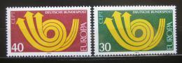Poštovní známky Nìmecko 1973 Evropa CEPT Mi# 768-69