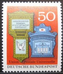 Poštovní známka Nìmecko 1974 UPU, 100. výroèí Mi# 825