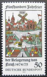 Poštovní známka Nìmecko 1975 Neuss, døevoøezba Mi# 843